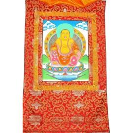 Buda Ho Tai con brocado mediano