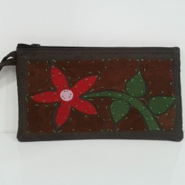 Monedero pachmed, 20cms ancho y 13 cms largo