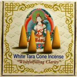"Incienso tibetano en conos ""White Tara"""