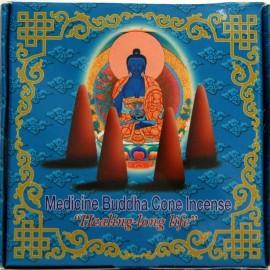 """Incienso tibetano en conos """"Medicine Buddha""""- Sanación para una vida larga"""