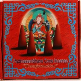 """Incienso tibetano en conos """"Padmasambhava""""- Transformación"""