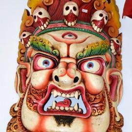 Máscara de Vajrapani gigante