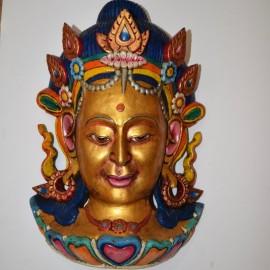 Máscara de Tara gigante
