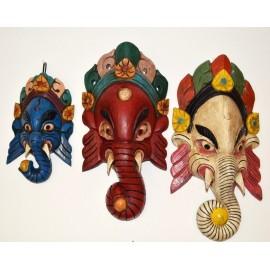 Máscara de Ganesh mediana