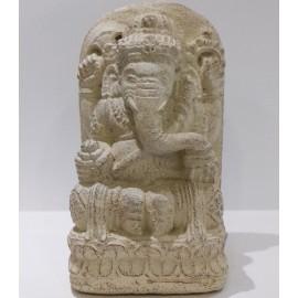 Ganesh de piedra 15 cms.