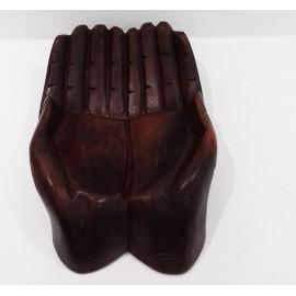 Manos de madera 15 cms.