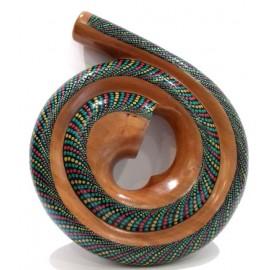 Didgeridoo espiral de Mahogany