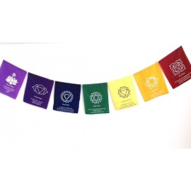 Banderas con chakras