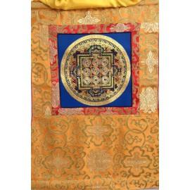 Mandala con brocado pequeño tk364