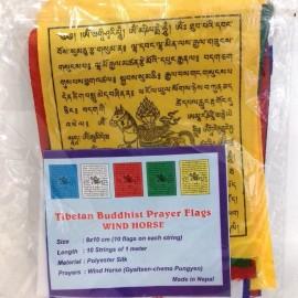 Pack banderas de oración cuadradas prequeñas