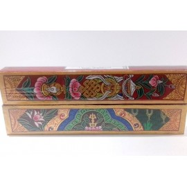"Caja de incienso doble ""Tibetan Sandalwood y night of Amber"""