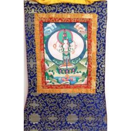 Avalokitesvara con brocado mediano- calidad