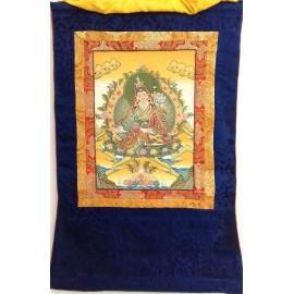 Guru Rinpoche con brocado mediano- calidad