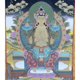 Maitreya con brocado mediano- calidad
