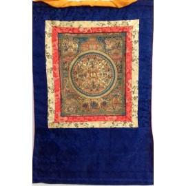 Mandala con brocado mediano- calidad- tk388