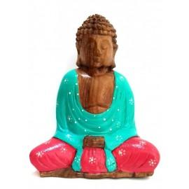 Buda de madera color 21 cms.