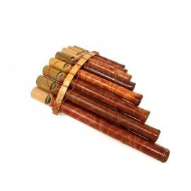 Flauta de pan natural