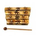 Xilófono bambú 4 notas