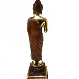 Estatua Buda de pie bronce