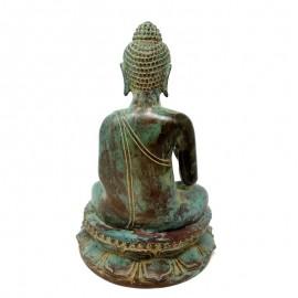 Buda bronce envejecido