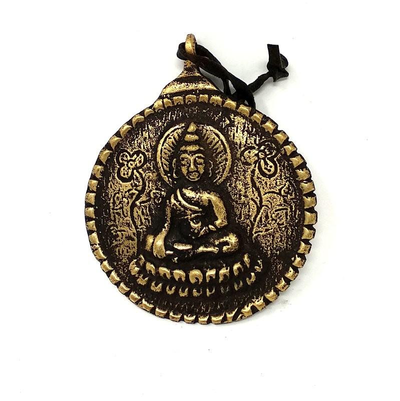 Calendario Tibetano.Colgante Metal Shakiamuni Calendario Tibetano Yatrabuda