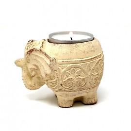 Elefante porta velas mini