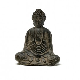 Buda Za zen piedra pequeño (10 cms.)