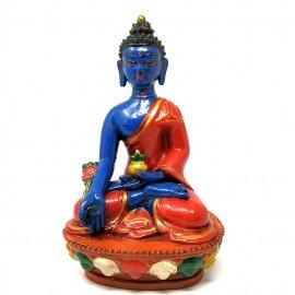 Buda de la medicina de terracota 21 cms.