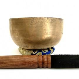 Cuenco tibetano thadopati 1000-1100 grs. 18 cms. diámetro aprox.