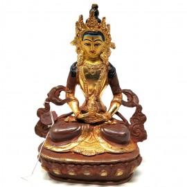 Amitayus cobre y oro 15 cms.