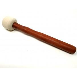 Maza de algodón prensado pequeña (3,5 cms. diám.)