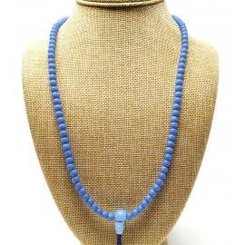 Mala de cristal azul