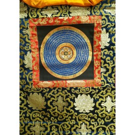 Mandala con brocado pequeño tk395