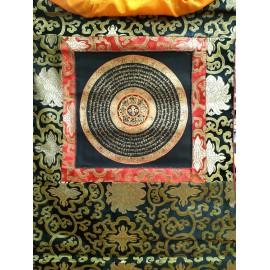 Mandala con brocado pequeño tk396