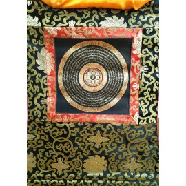 Mandala con brocado pequeño tk399