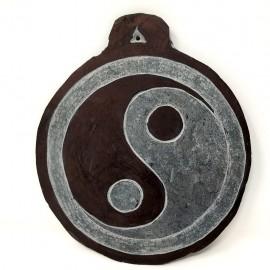 "Piedra tallada ""Yin/Yang"" 13 cms."