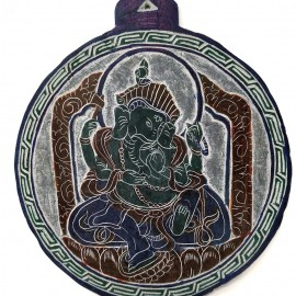 "Piedra tallada ""Ganesh"" 18 cms."