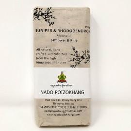 Junipero y Rhododendro