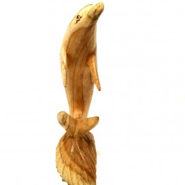 Delfín madera