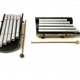 Xilofono 5 tubos curvado