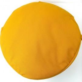 Zafu Cáscara espelta ecológica. Naranja liso.