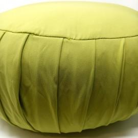 Zafu Cáscara espelta ecológica. Verde pistacho extra grande