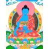 Buda de la Medicina con brocado mediano
