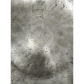 "Cuenco Full Moon ""Adi Buddha"" 27 cms. 2,171 Kgrs."
