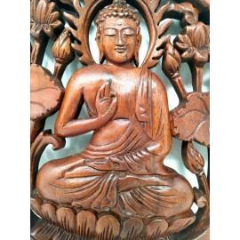 Talla de Buda para colgar- 30 cms.