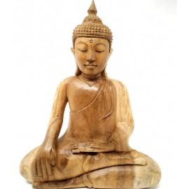 Buda de madera Tailandés- 30 cms.
