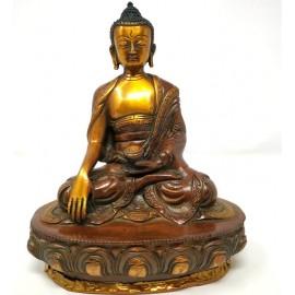 Shakiamuni de bronce- 21 cms.