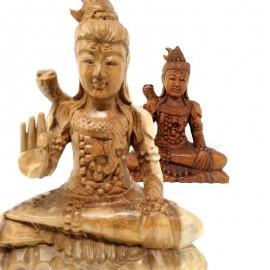Shiva de madera- 20 cms.