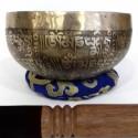 Cuenco jambati grabado 800-1000 grs. 16-18 cms. diametro