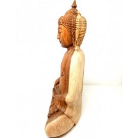Buda de maera Thai- 45 cms.